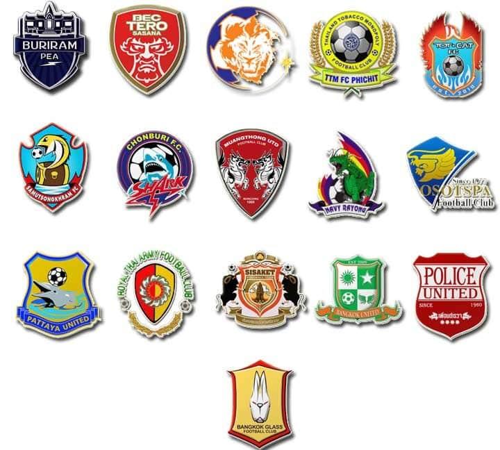 ทีมฟุตบอลไทยที่ติดอันดับของประเทศ
